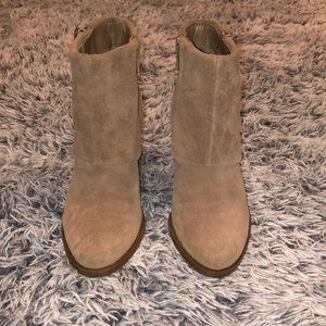 Jessica Simpson Shoes - Jessica Simpson Suede Ankle Boots
